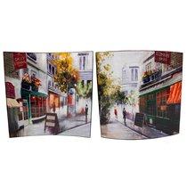 Картина Парижские Кафе 58х58 см (пара) - Top Art Studio