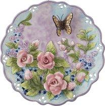 Тарелка Настенная Декоративная Бабочка Диаметр 20 см Высота 3 см - Hebei Grinding Wheel Factory
