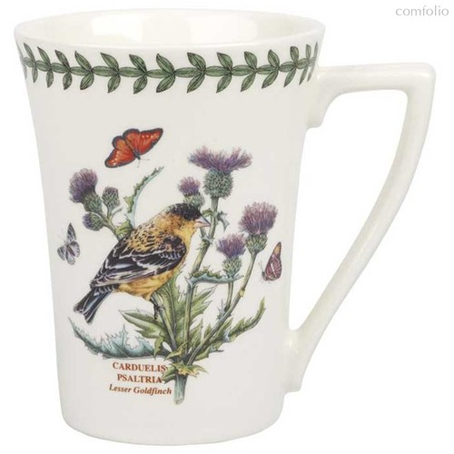 "Кружка Portmeirion ""Ботанический сад. Птицы. Щегол"" 280мл - Portmeirion"