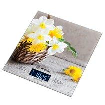 Весы Кухонные Корзина С Цветами Hottek Ht-962-034 18X20 см, МаксВес 7Кг - Keyon