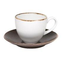 Тоффи Чайный набор 12 пр., цвет белый/коричневый - Top Art Studio
