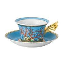 """Чашка чайная с блюдцем 220мл """"Сокровища моря"""" - Rosenthal"""