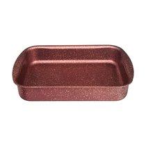 Форма Agness Премиум Red Queen Прямоугольная 25Х19X5.5 см, Трехслойное Покр Granit, Pfoa Free - ISFA Metal Tekstil
