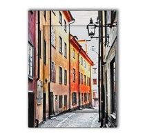 Улочки Стокгольма 35х45 см, 35x45 см - Dom Korleone