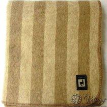 Одеяло INCALPACA (46% шерсть альпака, 33% шерсть мериноса,15% хлопок) OA-1, цвет бежевый, 175x205 см - Incalpaca TPX