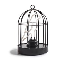 Светильник неоновый Bird in a cage - Suck UK