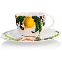 "Чашка для эспрессо с блюдцем 80мл ""Фруктовый сад"" - Rosenthal"