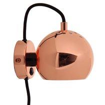 Лампа настенная Ball, d12 см, бронзовая в глянце - Frandsen