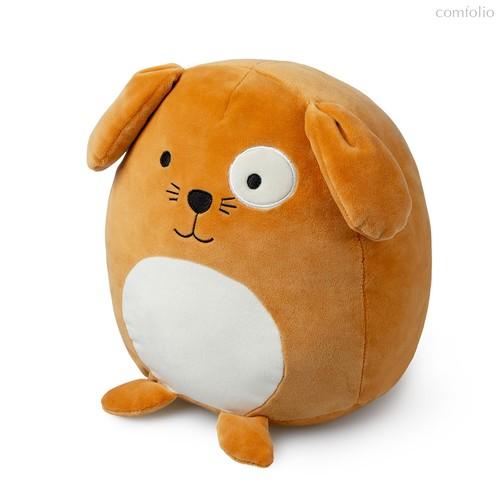 Подушка диванная Woof! коричневая, цвет коричневый - Balvi