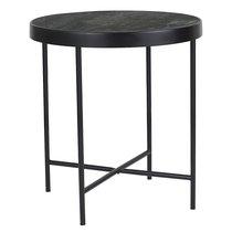 Столик кофейный Benigni, черный, 42,5х46 см - Berg