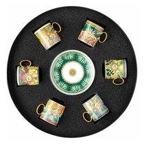 """Набор чашек для эспрессо с блюдцами Rosenthal Versace """"Мир джунглей"""" 100мл,6 шт в п/к - Rosenthal"""
