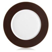 """Тарелка подстановочная Lenox """"Маркеса"""" 30см (коричневая), цвет коричневый, 30 см - Lenox"""