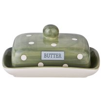 Масленка Green Butter 17,5*13,5*9 см - FUJIAN DEHUA ZHENFENG CERAMICS