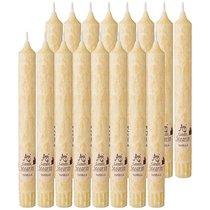 Набор Ароматических Стеариновых Свечей Из 16 Шт. Vanilla Высота 20 см - Adpal