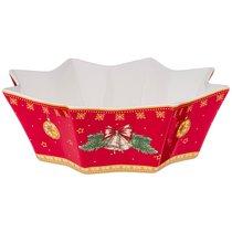 Блюдо Фигурное Christmas Collection Диаметр 23 см, Высота 7 см - Jinding
