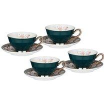 Чайный Набор Lefard На 4 Персоны 8 Пр. 220 мл Зеленый - Rongshengyuan