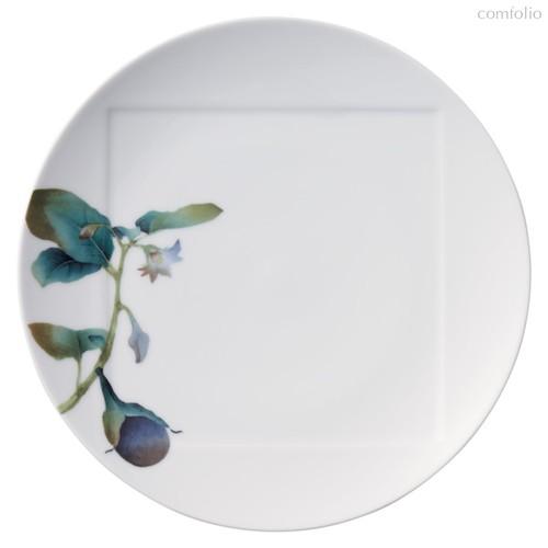 "Тарелка обеденная Noritake ""Овощной букет"" ""Баклажан"" 27см, 27 см - Noritake"