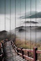Лестница в облака 60х90 см, 60x90 см - Dom Korleone