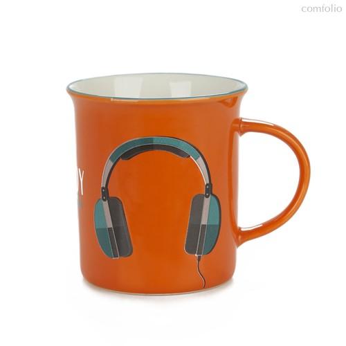 Кружка Enjoy 320мл, цвет оранжевый - Balvi
