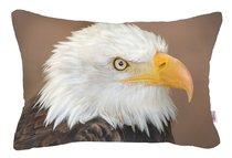 "Декоративный чехол ""Eagle"", 01-7982/1, 31х50 см, цвет коричневый, 31x50 - Altali"