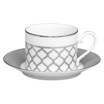 "Чашка чайная с блюдцем Noritake ""Царский дворец"" 250мл - Noritake"