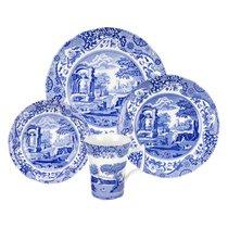 """Сервиз чайно-столовый Spode """"Голубая Италия"""" на 4 персоны 16 предметов - Spode"""