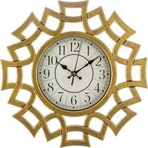 Часы Настенные Кварцевые Italian Style 41X36X5 смДиаметр Циферблата 17 см - Arts & Crafts