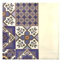"Скатерть с рисунком ""Марокко"", 140х180 см, P95-1918/1, цвет синий - Altali"