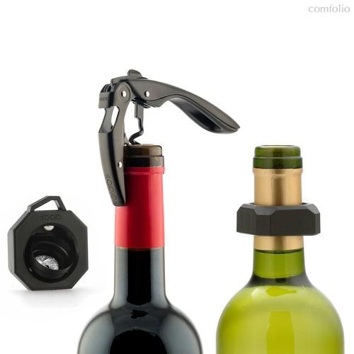 Набор для вина Wine Lovers Deluxe, цвет черный - Koala