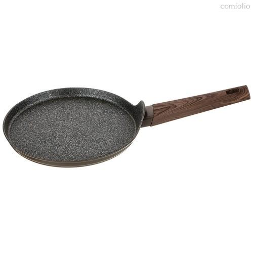 Сковорода Блинная С Мраморным Антипригар. Покрытием, 22 см Серия Латте - Meidao