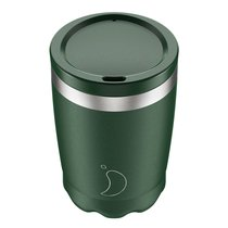Термокружка Coffee Cup 340 мл Matte Green - Chilly's Bottles