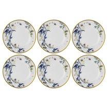 """Набор тарелок обеденных Rosenthal """"Турандот"""" 27см (белая, золотой кант), 6 шт - Rosenthal"""
