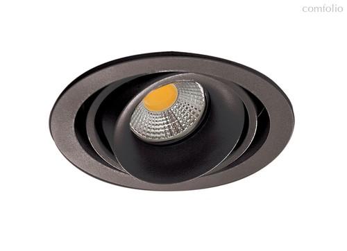 Donolux Lumme Светильник встраиваемый, MR16, макс.50Вт, GU10, IP20, Блестящий черный/черный, D110х95 - Donolux