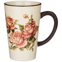 Кружка Корейская Роза 13,5x9,5x14,5 см / 530 мл - Huachen Ceramics