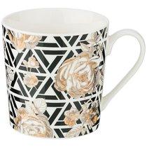 Кружка Golden Rose 400 мл, Геометрия - Porcelain Manufacturing Factory