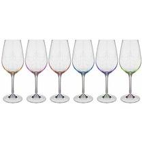 Набор бокалов для вина из 6 шт. VIOLA 450 мл ВЫСОТА 23,5 см - Crystalex