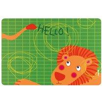 Коврик сервировочный детский Hello лев - Guzzini