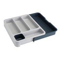 Органайзер для столовых приборов DrawerStore™ раздвижной серый - Joseph Joseph