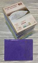 Н-М-70-ФА Фиолетовая Астра наволочка на молнии ткань Махра 2шт.-70х70 - АльВиТек