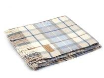 Плед Sorrento 2, цвет бежевый/голубой, 150 x 200 - Italian Woollen Treasures