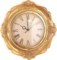 Часы Кварцевые Настенные 30x30x5 см Диаметр Циферблата 17 см - Kimberley International