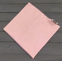 Н-С-50-РОЗ розовая наволочка ткань сатин 2шт.-50х70, цвет розовый, 50x70 - АльВиТек