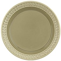 """Тарелка закусочная Portmeirion """"Ботанический сад.Гармония"""" 20см (тёмно-зелёная), цвет темно-зеленый, 20 см - Portmeirion"""