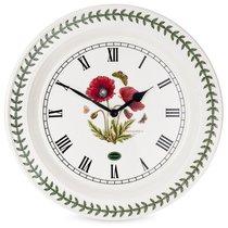 "Часы настенные Portmeirion ""Ботанический сад. Мак"" 25см - Portmeirion"