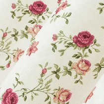 Ткань лонета Жасмин ширина 280 см, 1810/1, цвет бордовый - Altali