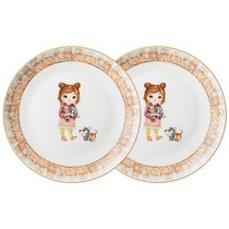 Набор Тарелок Закусочных Lefard Fashion Princess 2 Шт. 19 см - Jinding