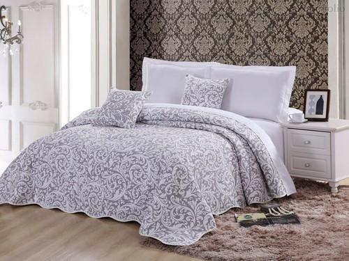 Покрывало Cleo Барселона, цвет серый, размер 160x220 - Cleo