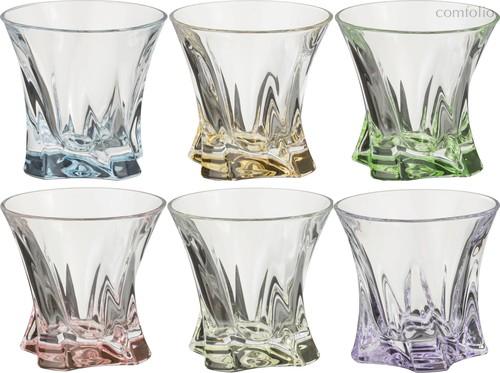 Набор стаканов ДЛЯ ВИСКИ из 6 шт. COOPER MIX 320 мл ДИАМЕТР=10 СМ. ВЫСОТА=9 СМ. - Aurum-Crystal
