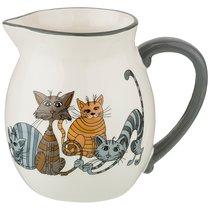 Кувшин Коллекция Озорные Коты 1000 мл 17x12x15 см - Hongda Ceramics