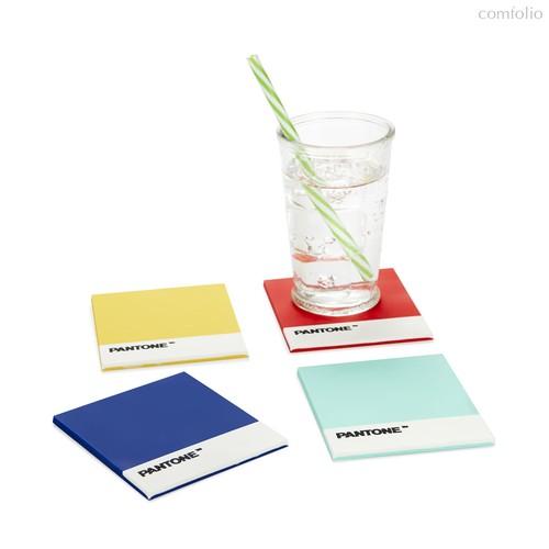 Подставка под стаканы Pantone 4шт., цвет разноцветный - Balvi